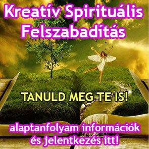 Kreatív Spirituális Felszabadítás tanfolyam
